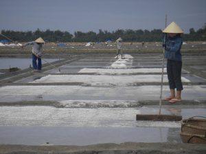 Salt Farm, Binh Dinh, Vietnam. Photo by Lee LeFever, Flickr, taken July 2006. Licensed under CC BY-NC 2.0.